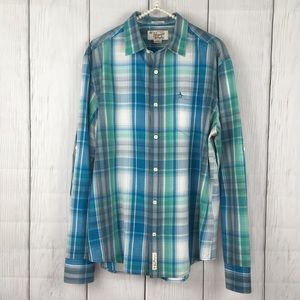 Penguin Classic Fit Button Down Plaid Shirt